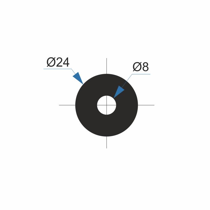 *TIIVISTE KORJAUSVENTTIILEIHIN d=8 D=24