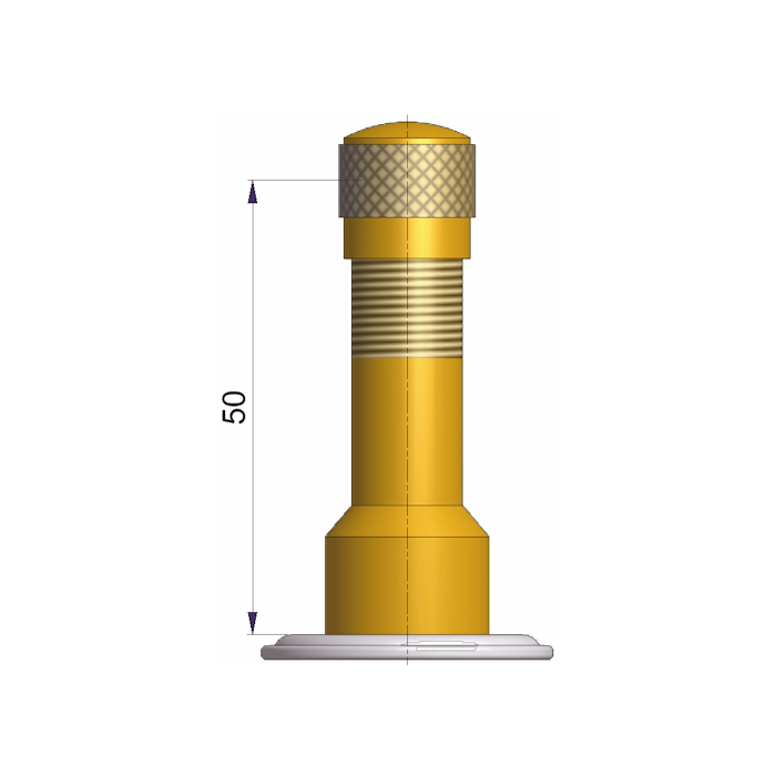 TRJ 1014 MSK KORJAUSVENTTIILI L=50mm