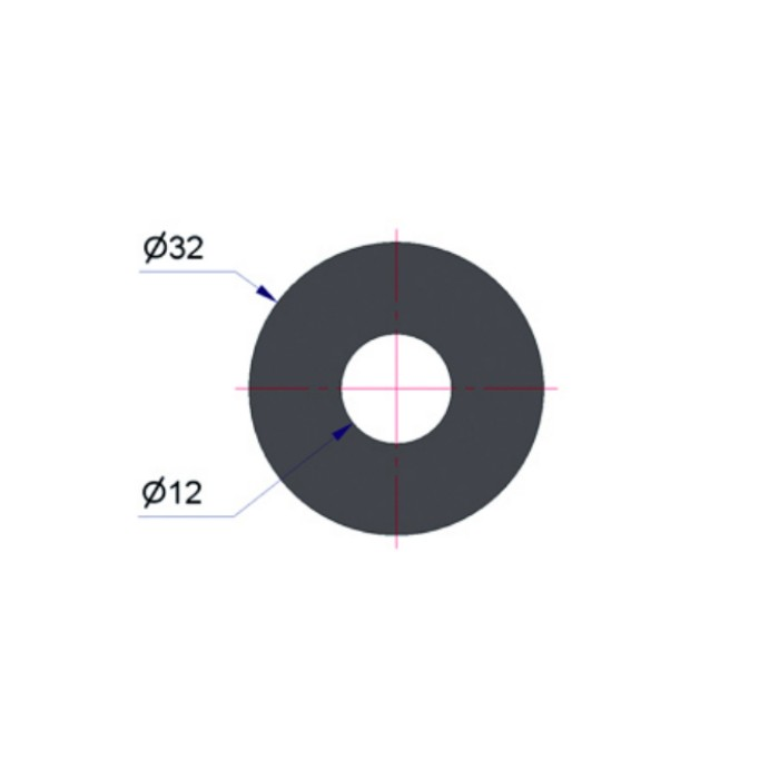 TIIVISTE KORJAUSVENTTIILEIHIN d=12 D=32