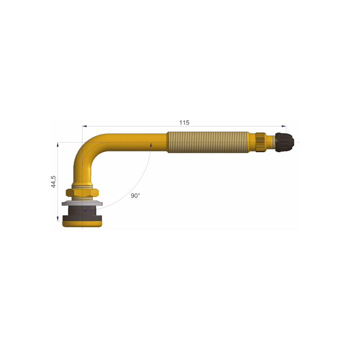 TR622A MSK TBL-VENTT. D16/A44,5-B115-a90°